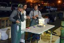 Day 1 pier 4 bait rigging